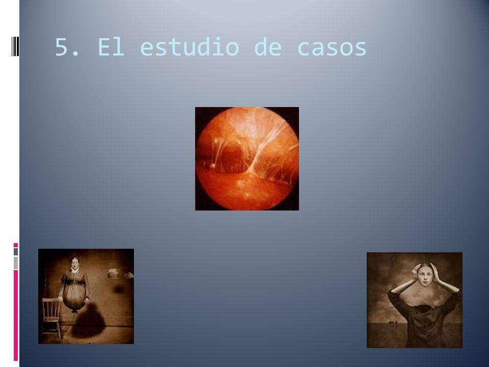 5. El estudio de casos