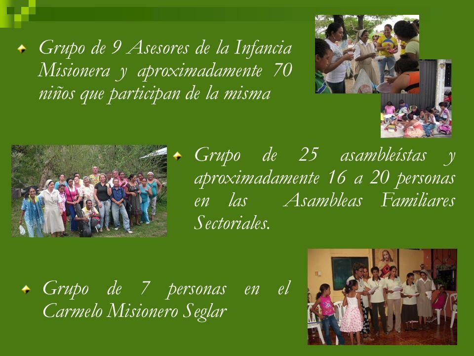: Grupo de 32 Catequistas de Primera Comunión y 15 de Confirmación.