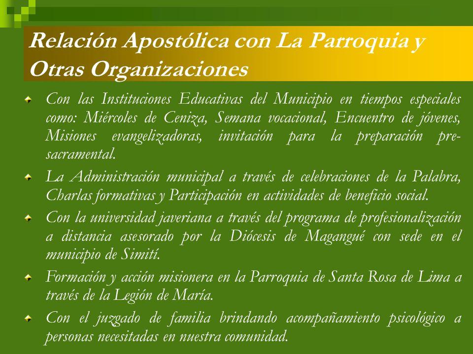 Proyectos Significativos Realizados El Proyecto de Solidaridad: Comedor San Antonio de Padua.