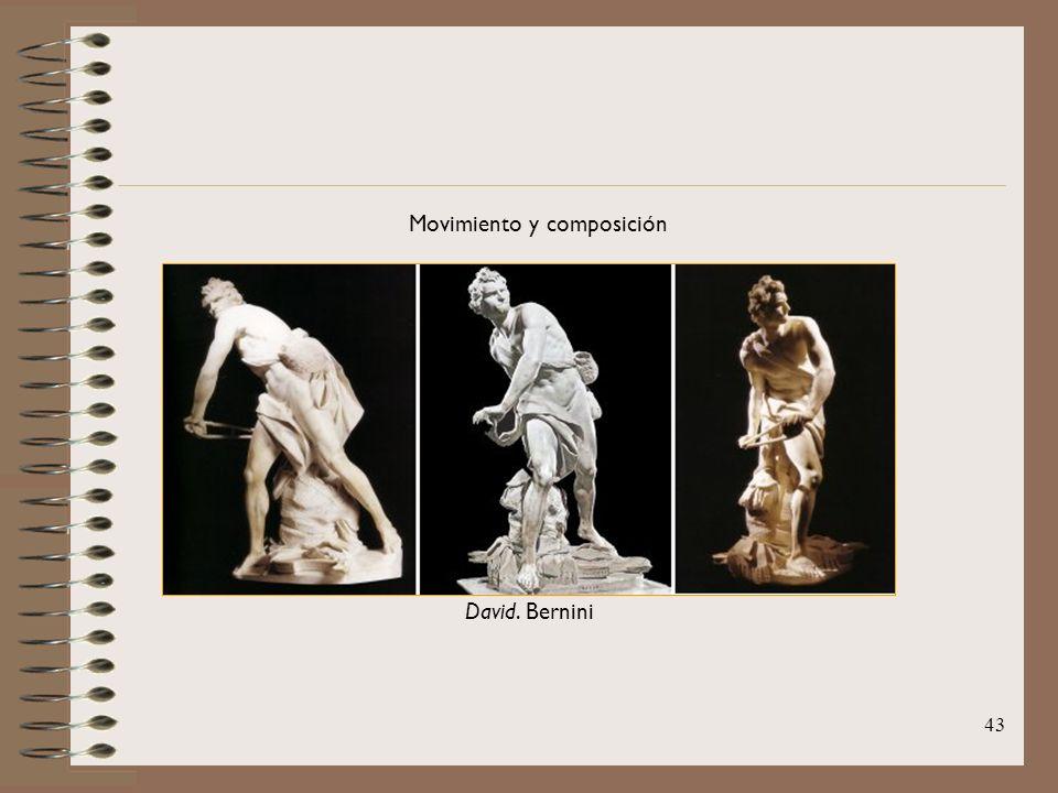 43 Movimiento y composición David. Bernini
