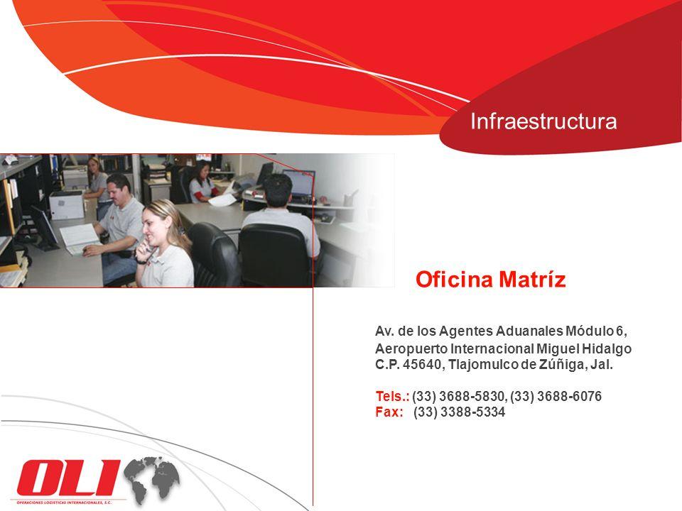 Av. de los Agentes Aduanales Módulo 6, Aeropuerto Internacional Miguel Hidalgo C.P. 45640, Tlajomulco de Zúñiga, Jal. Tels.: (33) 3688-5830, (33) 3688