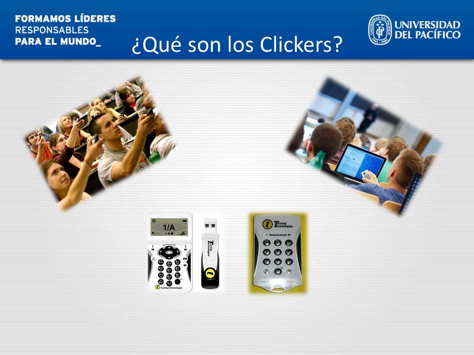 ¿Qué son los Clickers?