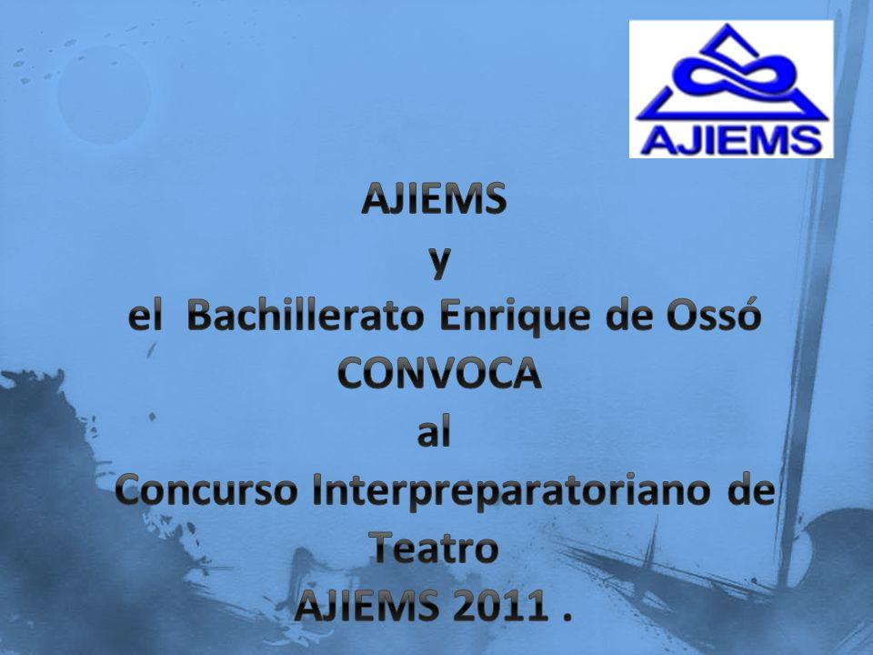 1.Podrá participar cualquier institución que sea miembro de la AJIEMS.