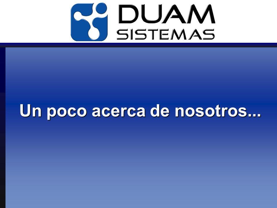 Contacto www.duamsistemas.com.ar Biarritz 2735(C1416EZR), Capital Federal Buenos Aires, Argentina Telefono: 5411.4504.2240 info@duamsistemas.com.ar