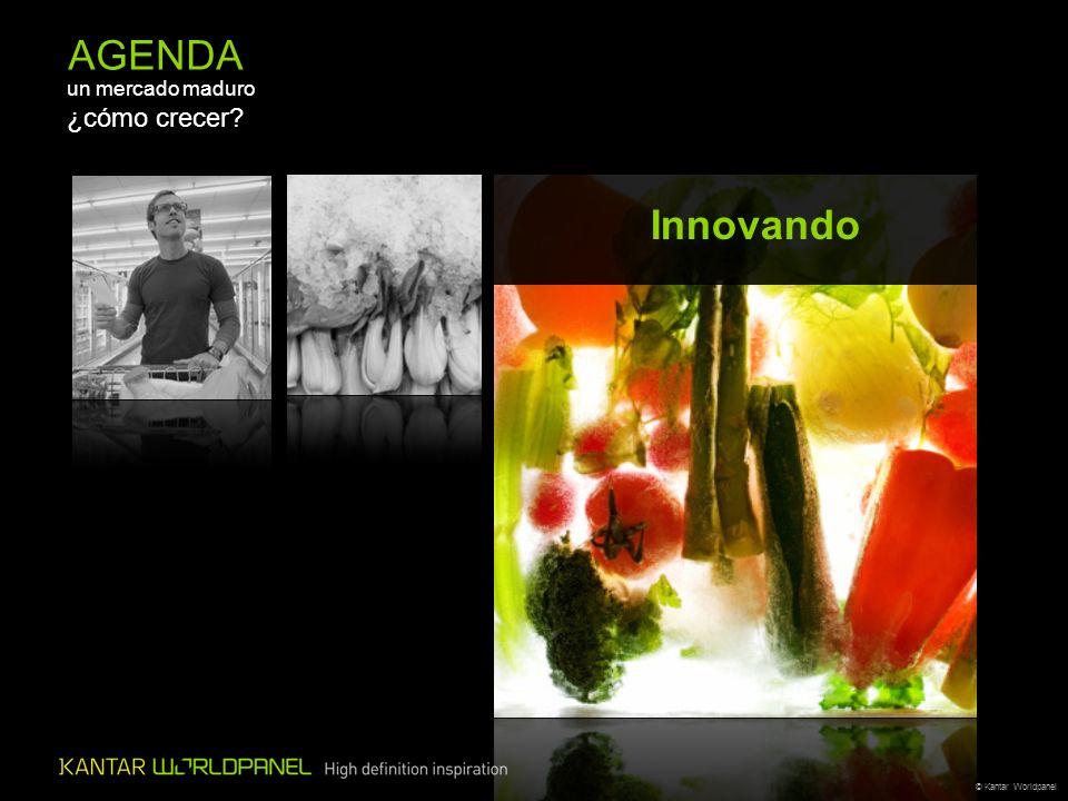 © Kantar Worldpanel AGENDA un mercado maduro ¿cómo crecer? Innovando