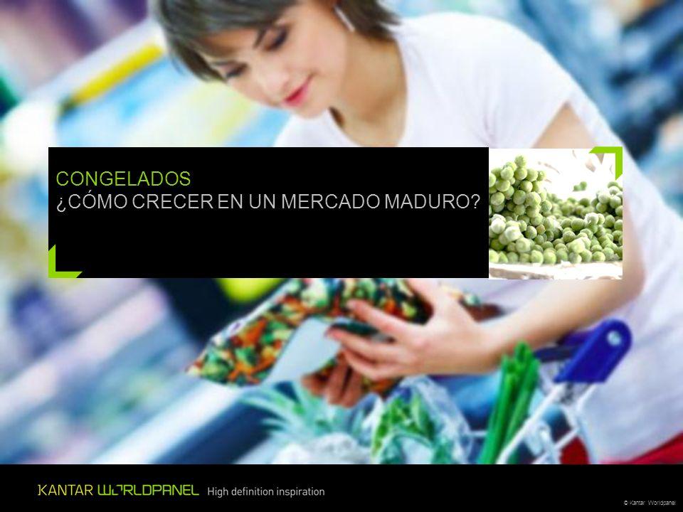 © Kantar Worldpanel CONGELADOS ¿CÓMO CRECER EN UN MERCADO MADURO?
