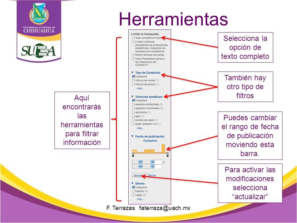 2. Accede a través del portal del CONRICyT: http://conricyt.mx/ Esta es el área de búsqueda.