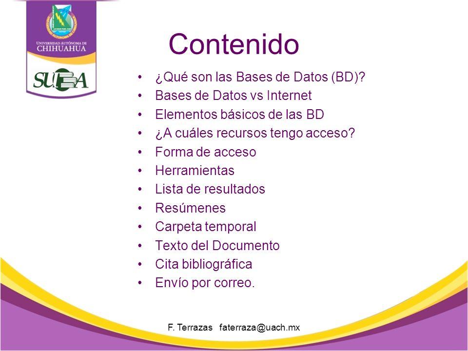 Bases Electrónicas de Datos 2013 Coordinación General del Sistema Universitario de Bibliotecas Académicas Unidad de Servicios Bibliotecarios