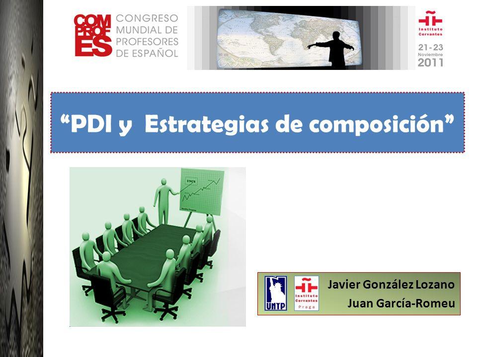 Javier González Lozano Juan García-Romeu PDI y Estrategias de composición