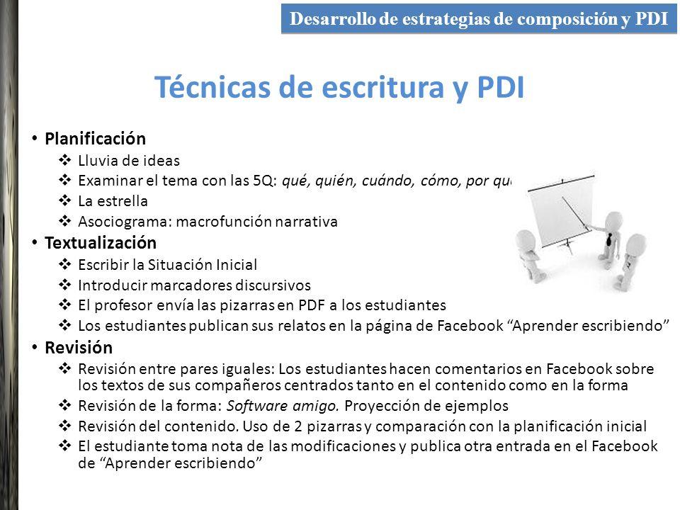 Funcionalidades de la PDI utilizadas Integración de recursos tecnológicos Software amigo Pizarras múltiples Dos pizarras Agrupación de elementos Aumentar-Reducir Movilidad de los textos Cámara de fotos PDF de las pizarras creadas