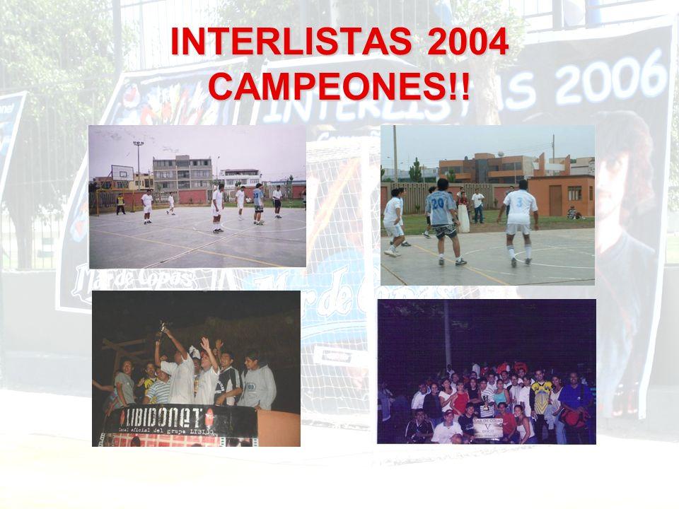 Concierto de presentación del disco Si algo así como el amor está en el aire (Parque de la Exposición) Wicho recibiendo COPA del Campeonato Interlistas 2004 durante el concierto