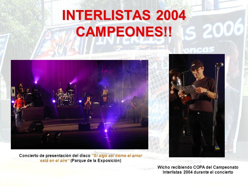 MAR DE COPAS 2007 UNIFORME PARA ESTE IV INTERLISTAS