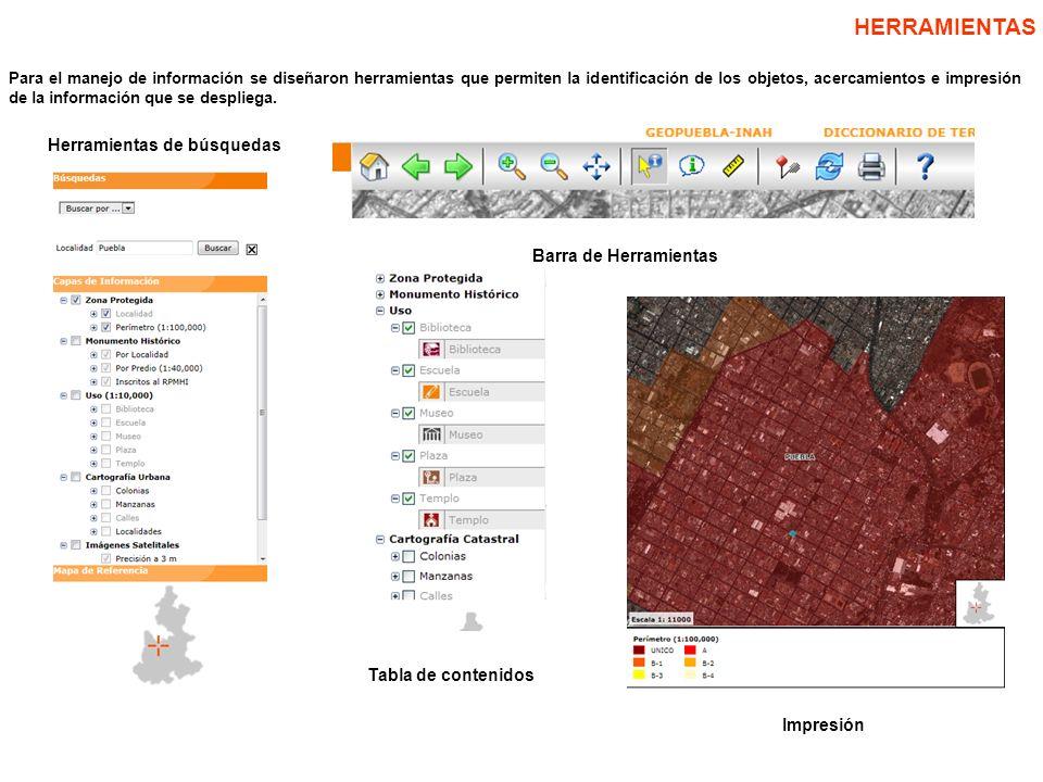 INFORMACIÓN COMPLEMENTARIA Finalmente, adicional a la cartografía se agregaron ligas que complementan la información sobre el patrimonio cultural.
