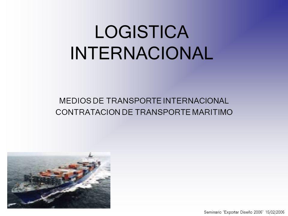¿Qué son los tráficos en el modo de transporte marítimo.