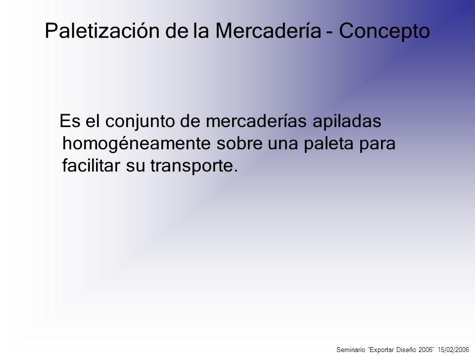 Contenedores – Concepto Se entiende por contenedor como el instrumento de transporte concebido para: 1.Facilitar el transporte de mercaderías, por uno o varios medios de transporte, a fin de evitar daños.