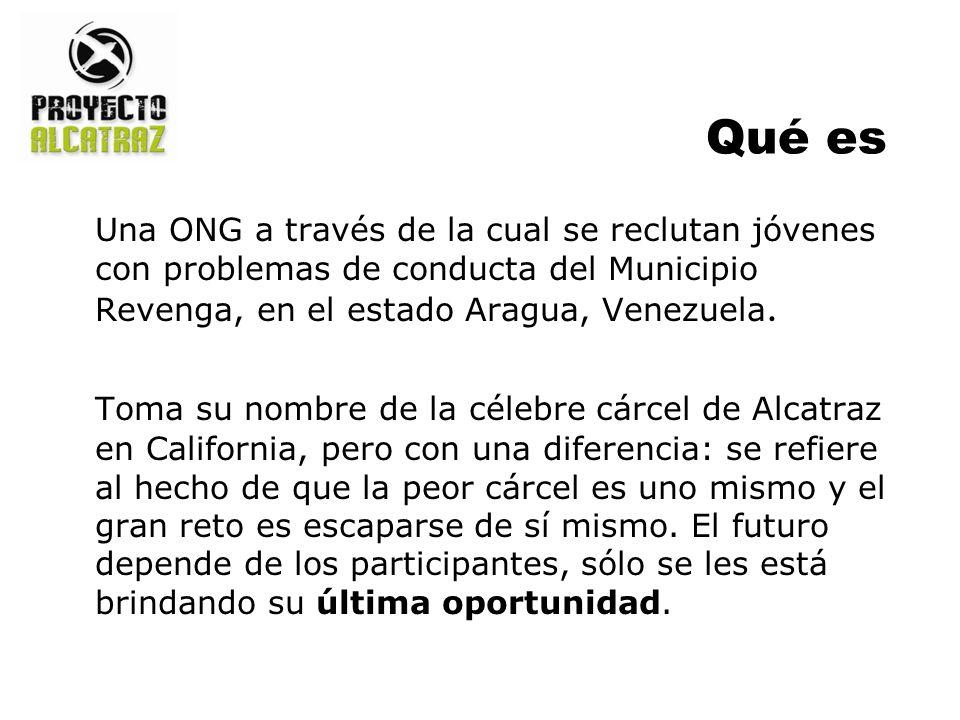Qué es Una ONG a través de la cual se reclutan jóvenes con problemas de conducta del Municipio Revenga, en el estado Aragua, Venezuela. Toma su nombre