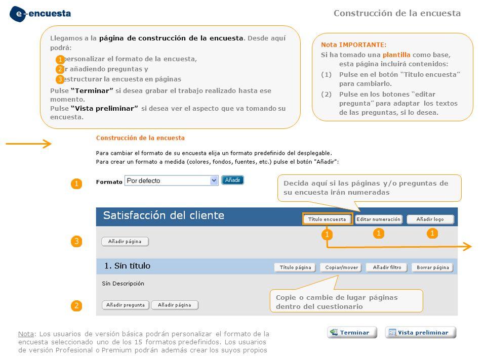 Satisfacción del empleado Añada aquí un título a su encuesta Los botones de navegación permiten que el encuestado se desplace por las páginas del cuestionario o deje la encuesta para otro momento.