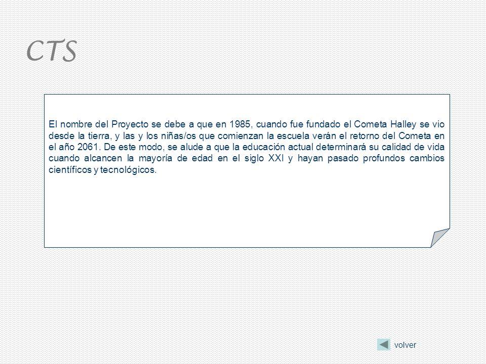 El nombre del Proyecto se debe a que en 1985, cuando fue fundado el Cometa Halley se vio desde la tierra, y las y los niñas/os que comienzan la escuela verán el retorno del Cometa en el año 2061.