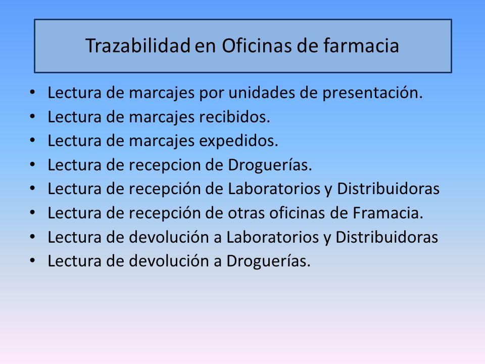Distribuidor Logístico Tercerizado / Propio Farmacia - Hospital Droguería - Mayorista Paciente Ministerio de Salud / ANMAT Valida y Rastrea Sistema Central.