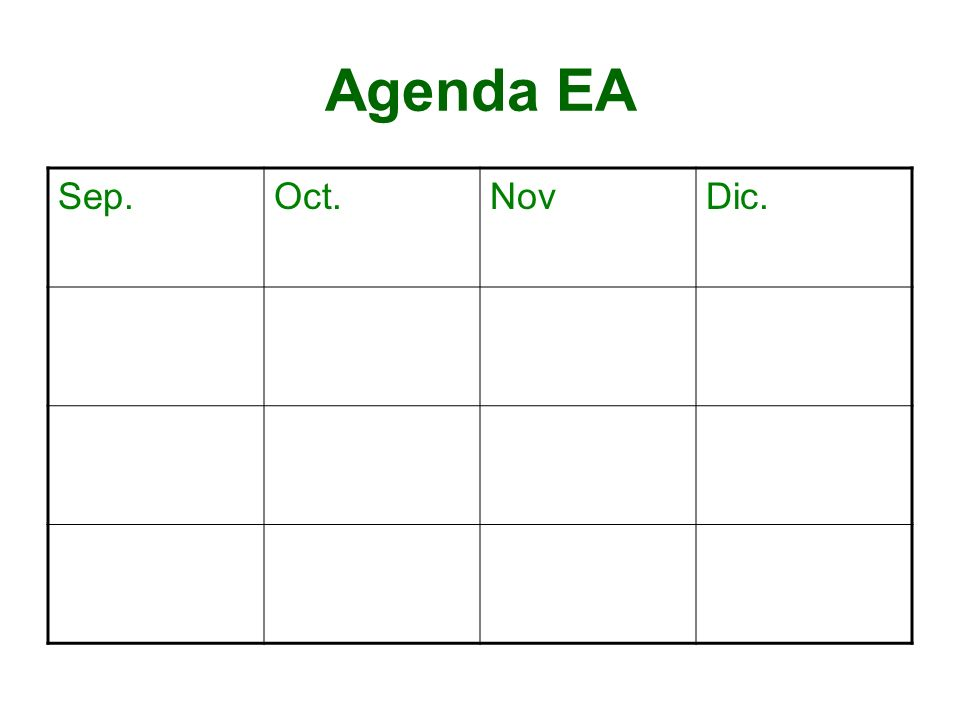 Agenda EA Sep.Oct.NovDic.
