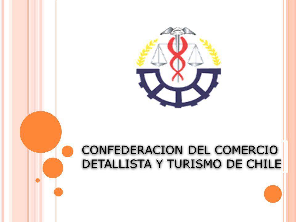 CONFEDERACION DEL COMERCIO DETALLISTA Y TURISMO DE CHILE CONFEDERACION DEL COMERCIO DETALLISTA Y TURISMO DE CHILE