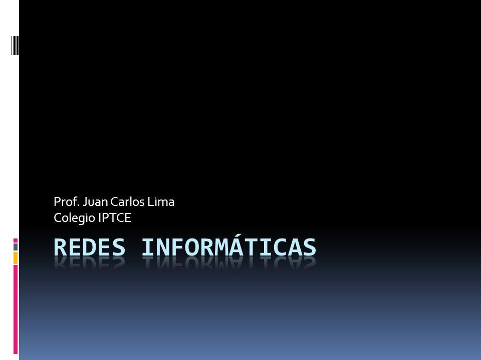 Prof. Juan Carlos Lima Colegio IPTCE