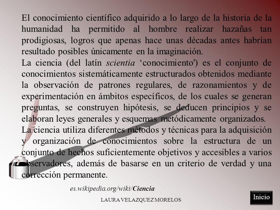 Mario Bunge: Conjunto de conocimientos obtenidos mediante la observación y el razonamiento, y de los que se deducen principios y leyes generales.