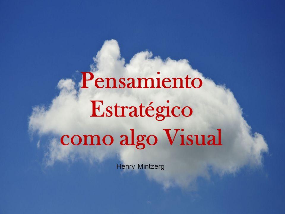 Pensamiento Estratégico como algo Visual Henry Mintzerg