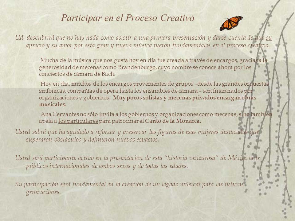 Participar en el Proceso Creativo Ud.