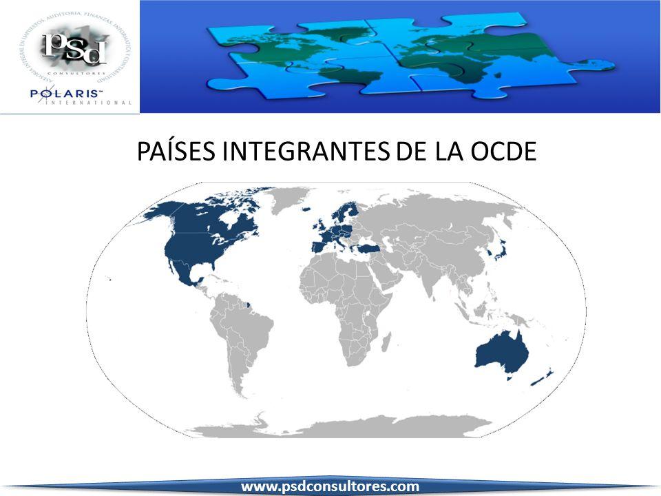 PAÍSES INTEGRANTES DE LA OCDE www.psdconsultores.com