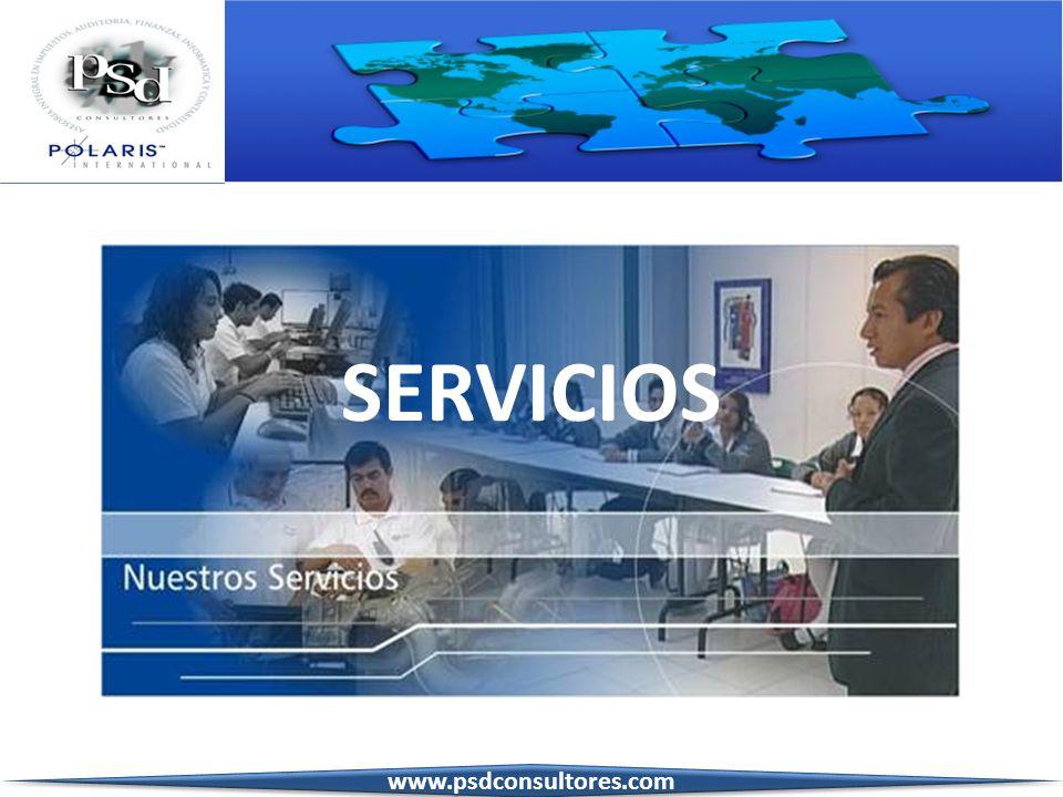 SERVICIOS www.psdconsultores.com