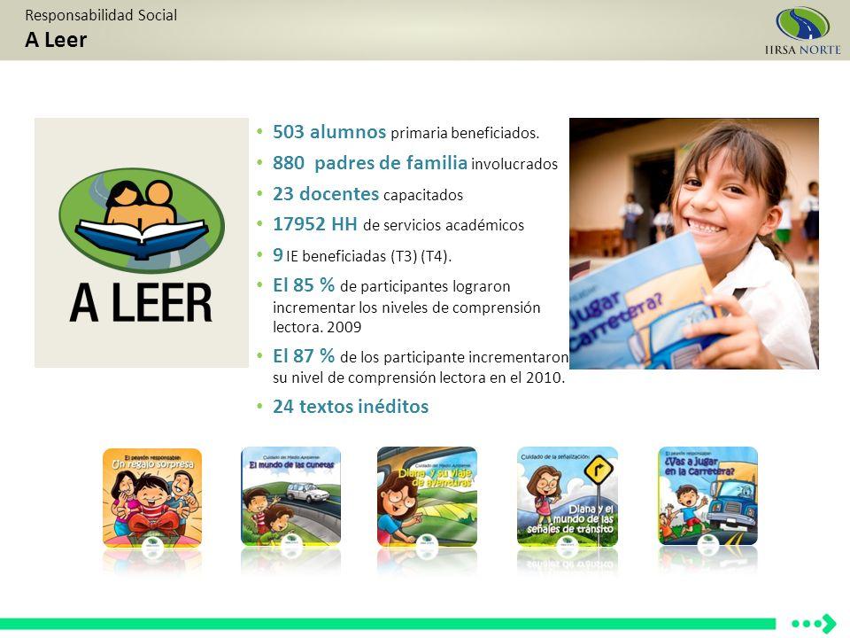 503 alumnos primaria beneficiados.