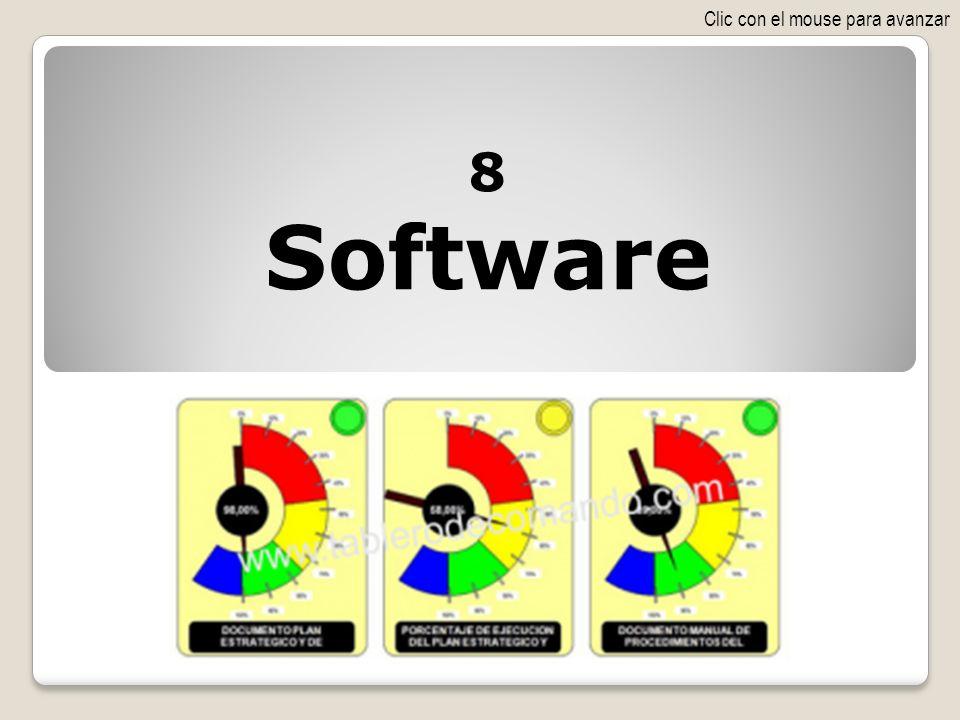 8 Software Clic con el mouse para avanzar