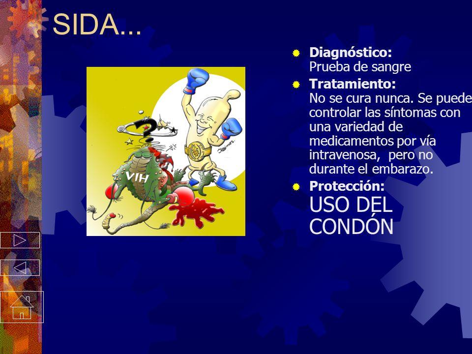 VIH / SIDA Los síntomas aparecen varios meses o varios años después del contacto con el VIH, el virus que causa el SIDA. Puede estar presente por much