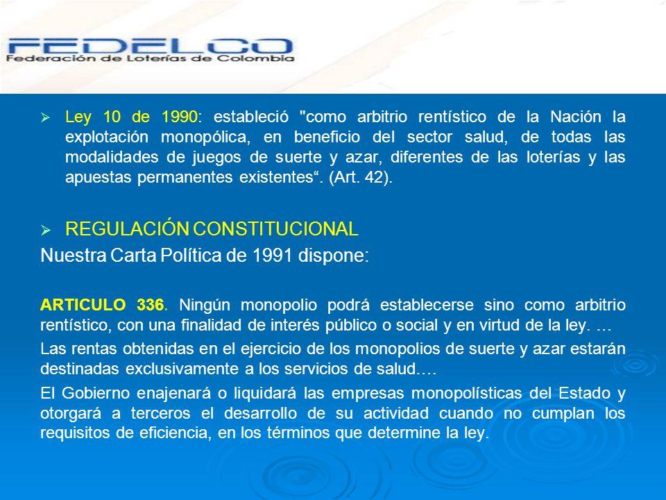 Ley 10 de 1990: estableció