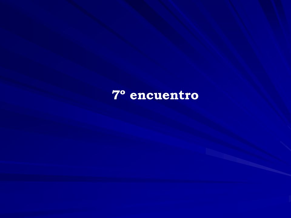 7º encuentro