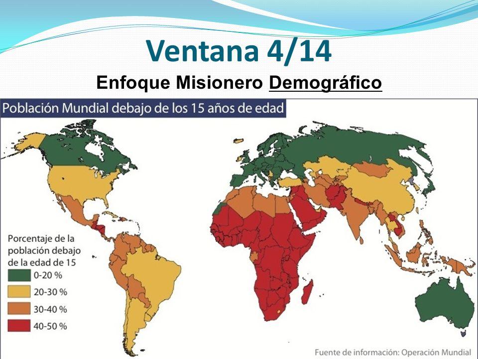 Ventana 4/14 Enfoque Misionero Demográfico
