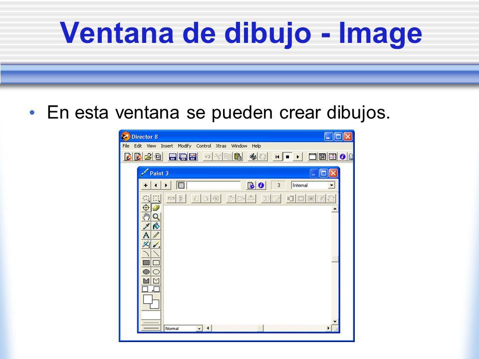 Ventana de dibujo - Image En esta ventana se pueden crear dibujos.