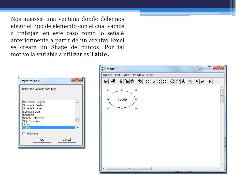 En ArcToolbox, localice Data Management Tools seguido de Layer and Table Views y dando clic sostenido arrastre Make XY Event Layer a la ventana del modelo.