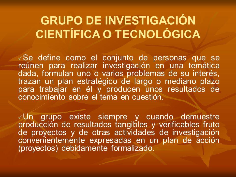 Diligenciar o actualizar, por parte de cada uno de los investigadores del grupo, la herramienta electrónica CvLAC.