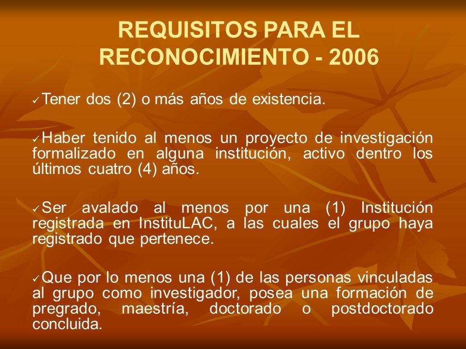POLÍTICA DE MEDICIÓN DE GRUPOS DE INVESTIGACIÓN