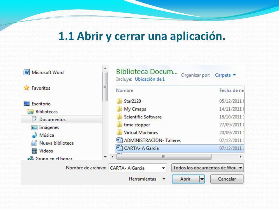 1.6 Utilizar las funciones de ayuda disponibles.