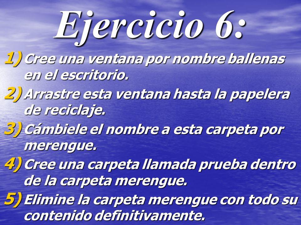 Ejercicio 7: 1.