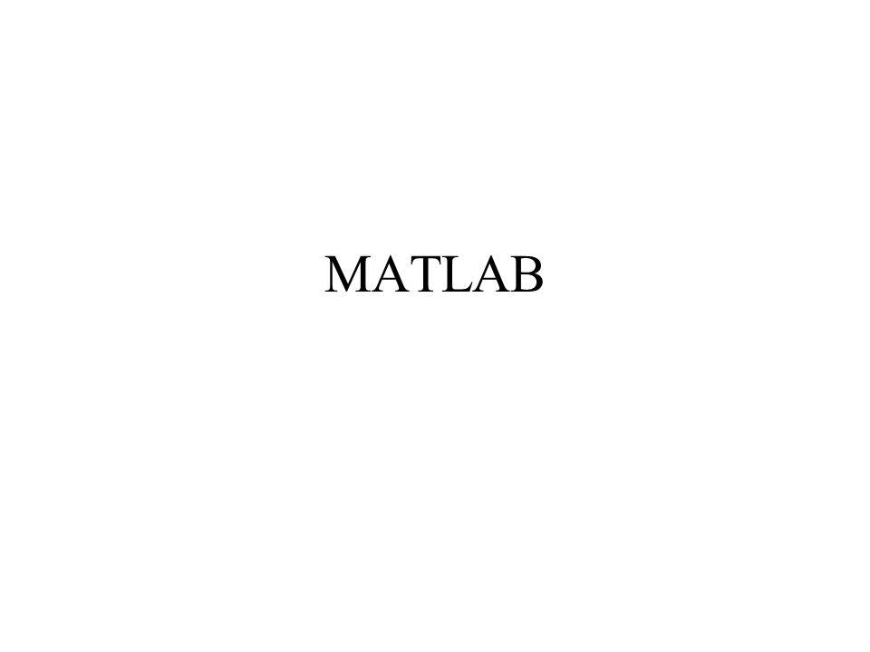 Introducción al MATLAB MATLAB = MATrix LABoratory Es un entorno de computación que presenta facilidades para cálculo matemático y visualización gráfica Dispone de toolboxes especializados: Control Systems, Neural Netword, Optimization, etc.