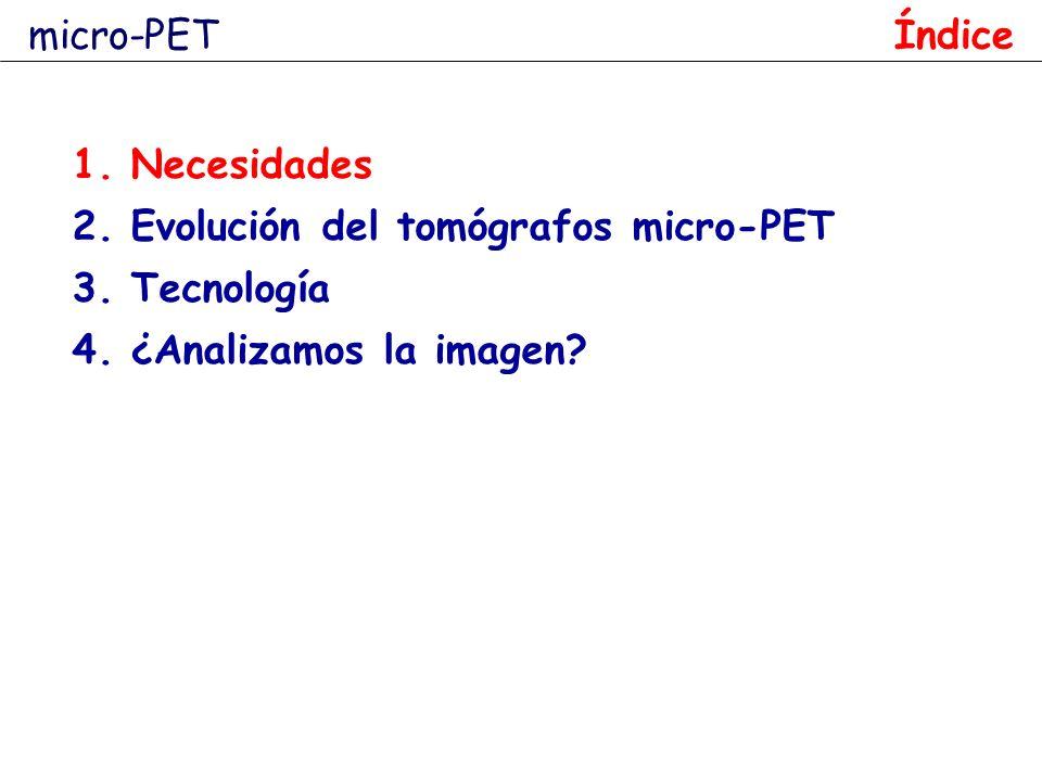 18 F-FHBG riñones vejiga hígado AdCMVLacZ AdCMVtk PET-CUN Peñuelas, Molecular Imaging and Biology, 2003 ¿Por qué la imagen PET de pequeños animales.