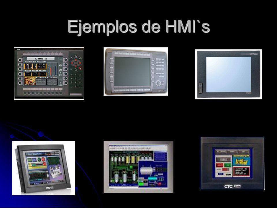 Ejemplos de HMI`s
