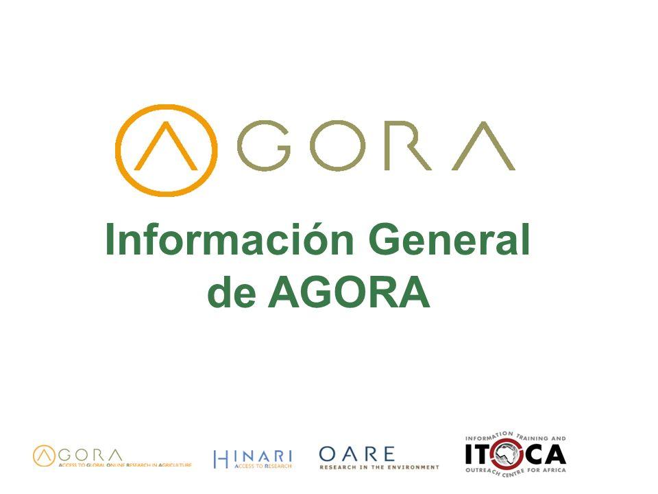 Información General de AGORA