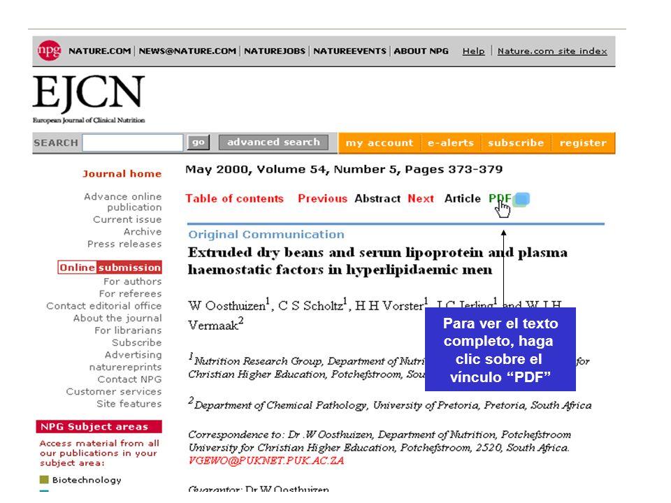 CAB Abstracts Para ver el texto completo, haga clic sobre el vínculo PDF