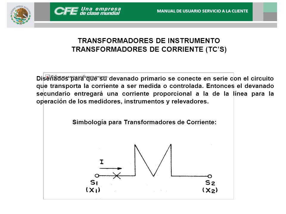 Diseñados para que su devanado primario se conecte en serie con el circuito que transporta la corriente a ser medida o controlada. Entonces el devanad