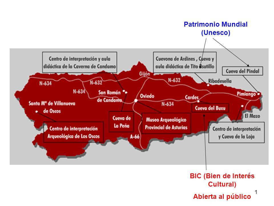 1 Patrimonio Mundial (Unesco) BIC (Bien de Interés Cultural) Abierta al público